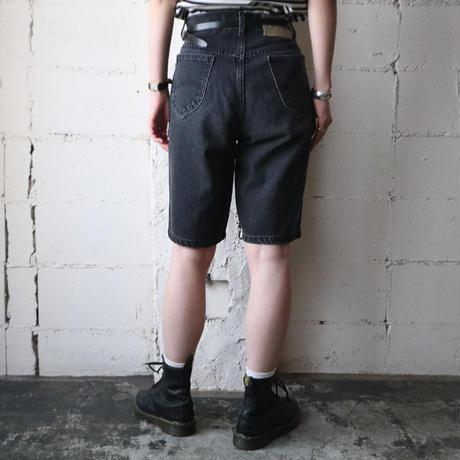 Lee Black Denim Short Pants BK