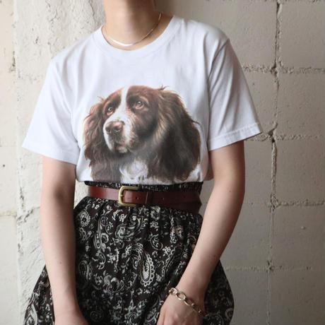 Dog Print Tee WH