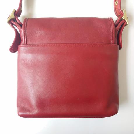 COACH Front Cover Square Shoulder Bag RE