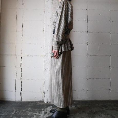Stripe Design Dress GR