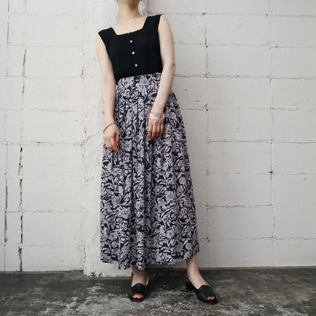 Botanical Pattern Skirt BKLPI