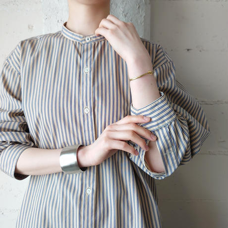 Stripe Band Collar Shirt BENV