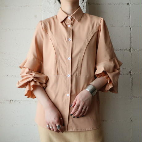 Frill Design Blouse OR