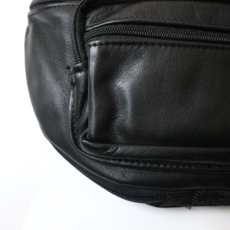 Leather Belt Bag BK