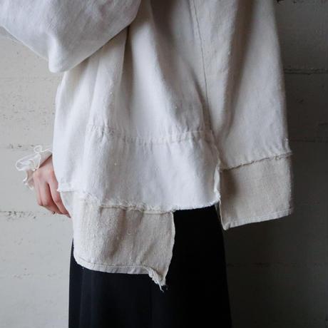 Vintage Ukrainian Tuck Collar Blouse IV
