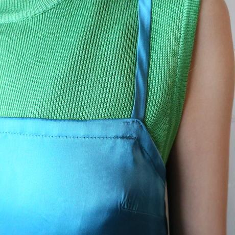 Mock Neck Sleeveless Knit GR