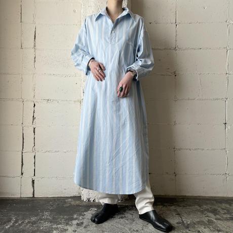 Stripe Long Shirt BL