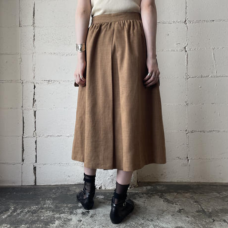 Design Pocket Flared Skirt BR