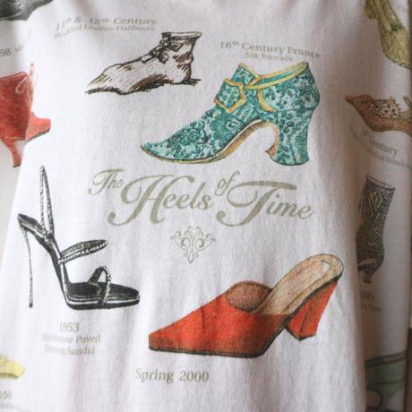 Shoes Print Tee WH