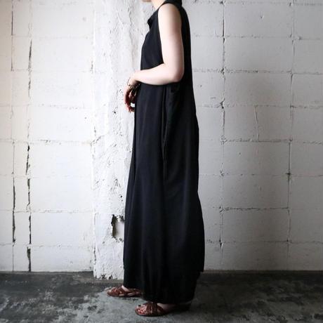 Sleeveless Shirt Dress BK