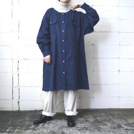 Calvin Klein Denim Big Shirt Coat BL