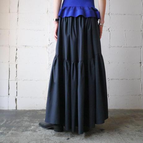 Tiered Circular Skirt BK