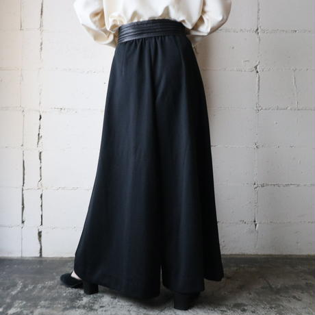 Wide Easy Pants BK