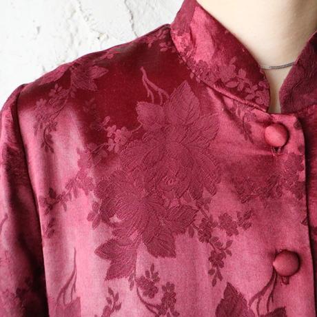 Shadow Flower Pattern Long Robe RE