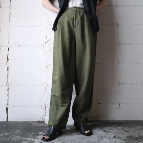 Basic Tuck Pants KA