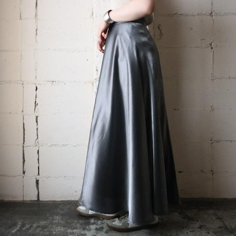 Silver Shiney Skirt SV