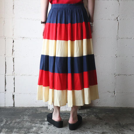 Border Flared Skirt NVREIV