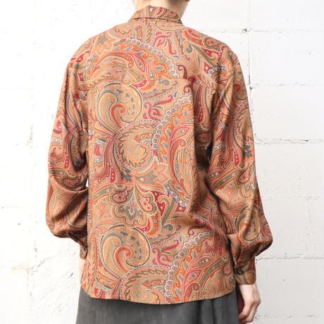 Paisley Pattern Rayon Shirt ORKA