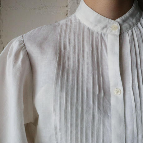 Linen Pleated Blouse IV