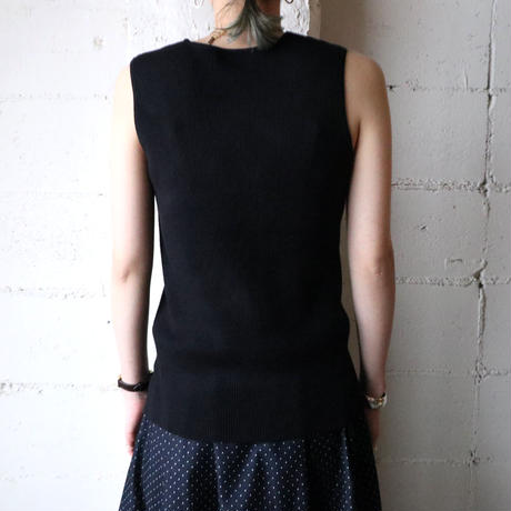 Sleeveless Knit BK
