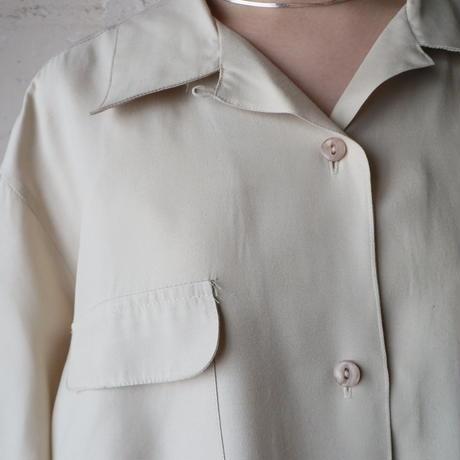Open Collar Blouse IV