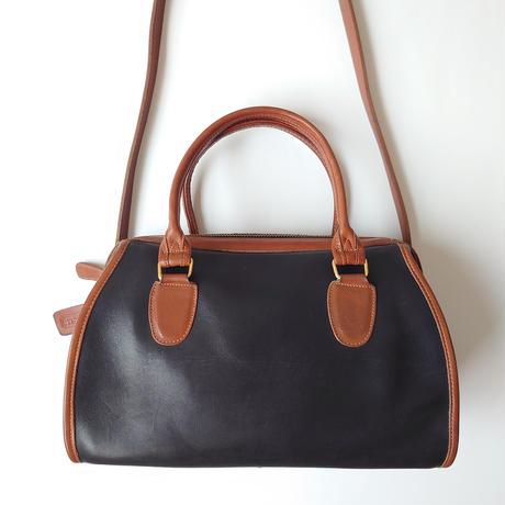 COACH Bicolor Boston Bag BK CA