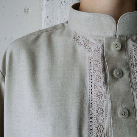 Embroidery Long Shirt BE