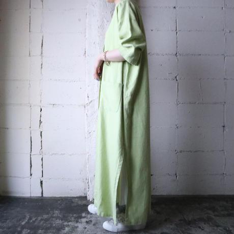 Linen Long Coat GN