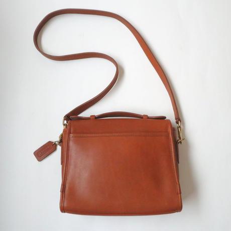 COACH Front Cover Square Shoulder Bag CM