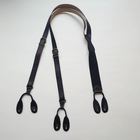 COACH Leather Suspenders BK