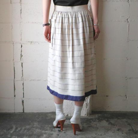 ESCADA Stripe Flared Skirt IVNV