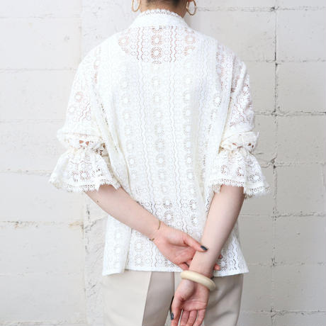 Tyrolean Lace Blouse WH