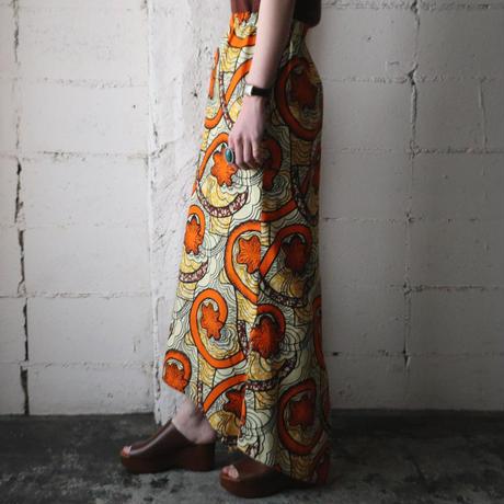 African Design Long Skirt OR