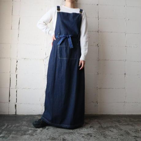 Denim Wrap Apron Dress NV