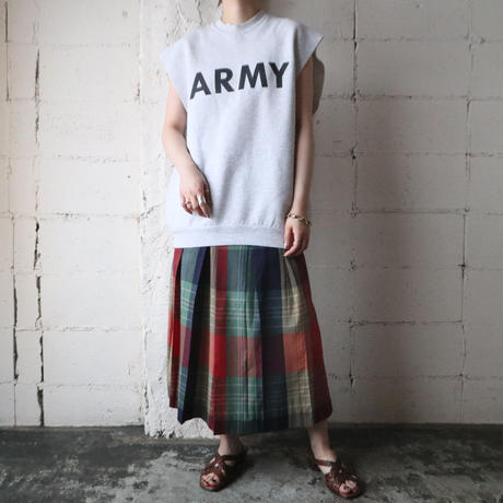 ''ARMY'' Cutoff Sweat GR