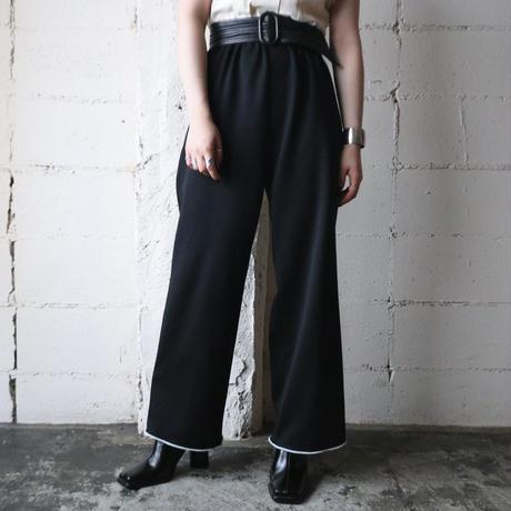 Hem Line Easy Pants BK