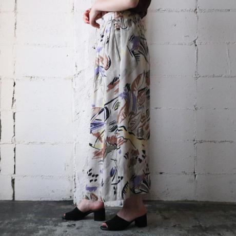 Animal Art Pattern Skirt BE.