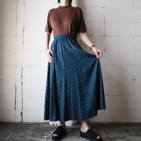 Small Pattern Easy Skirt NV