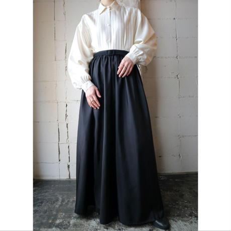 Long Flared Skirt BK