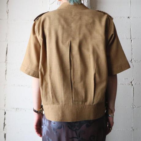 Open Collar Shirt Jacket BR