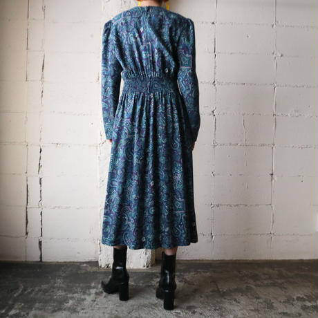 Paisley Pattern Dress BL