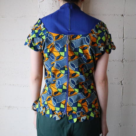 African Batik Blouse BLOR
