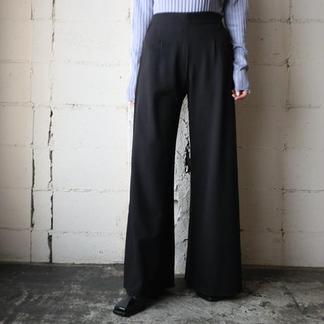 Rolled Flare Pants BK