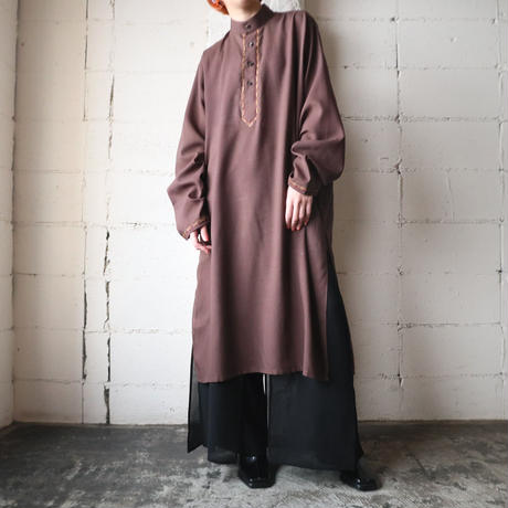 Embroidery Long Shirt BR