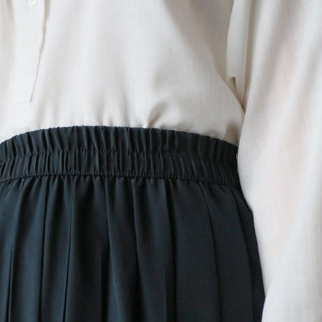Pleated Easy Skirt BK