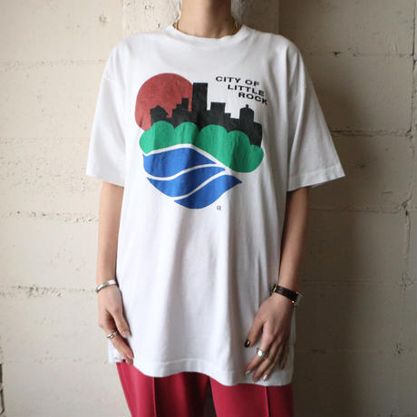 ''CITY OF LITTLE ROCK'' Print Tee WH