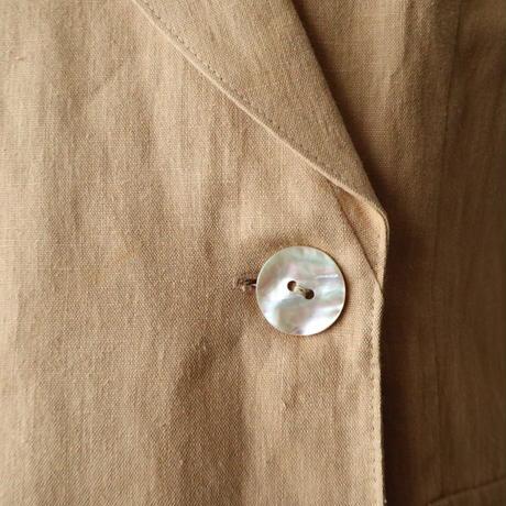 Linen Double Vest BE