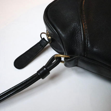 COACH Zip Top Shoulder Bag BK