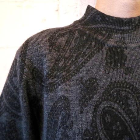 Paisley Pattern Knit Dress DGR