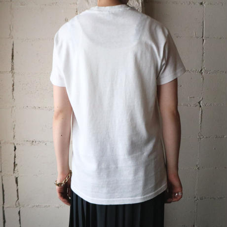 ''THE COMPATIBLE'' Print Tee WH